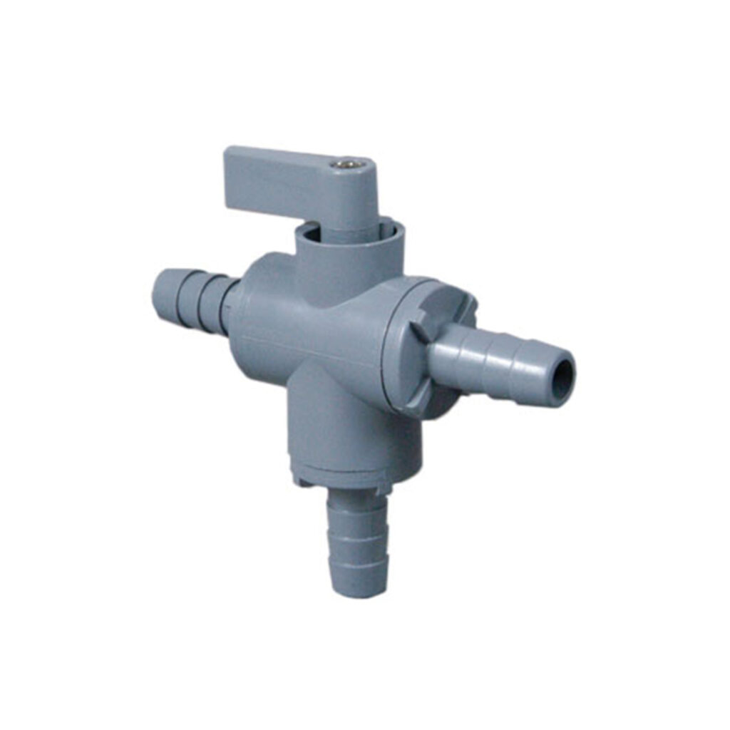 Three Way Ball Valve with Viton Seals - Buy Online from Lab Society