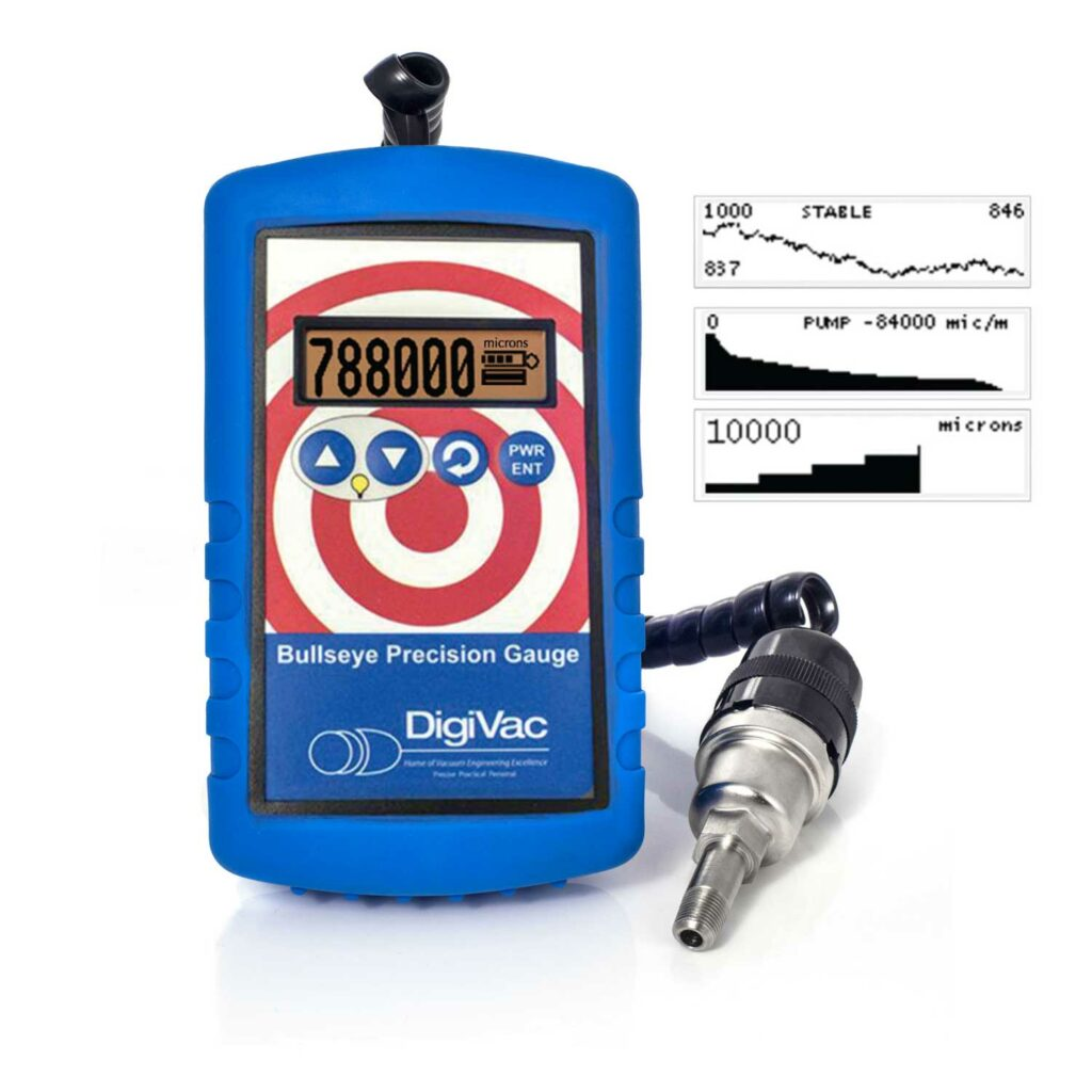 Buy a Bluetooth Bullseye Vacuum Gauge Online from Lab Society