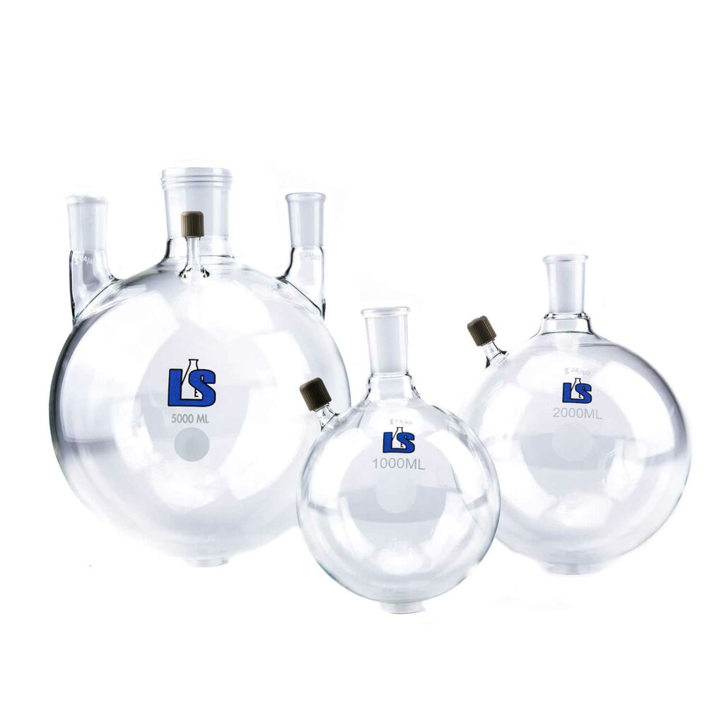 Buy a Round Bottom Flask Online from Lab Society - Scientific Glassware and Labware