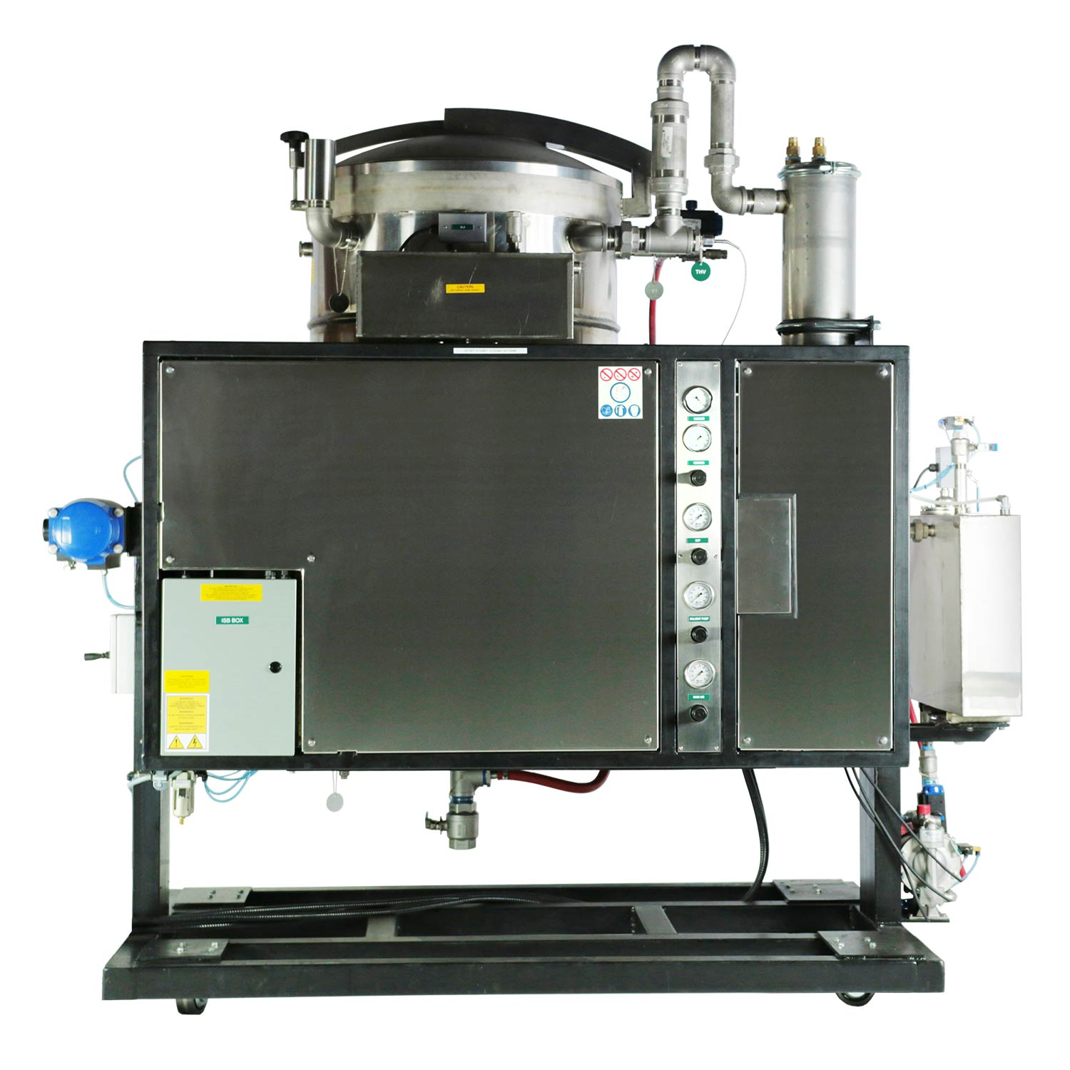 Automated Solvent Recovery System (ASRS)
