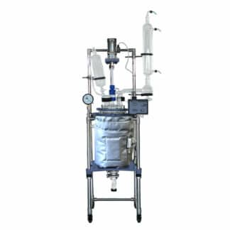 20L Dual-Jacketed Glass Reactor from Across International - Buy Online at Lab Society