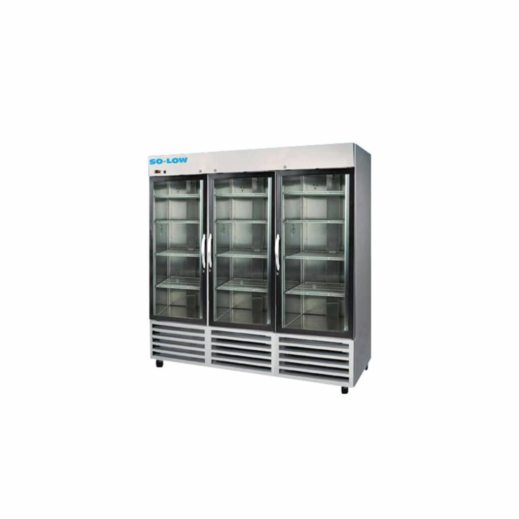 So-Low Stainless Lab Refrigerator - DH4-72GDSS