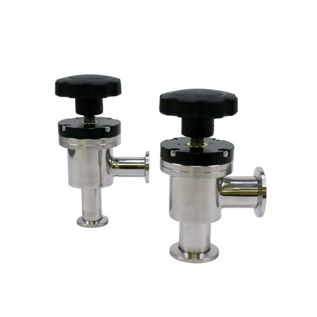 Buy a KF(NW) Manual Angle Valve Online from Lab Society - Short Path Distillation & Extraction Equipment and Supplies