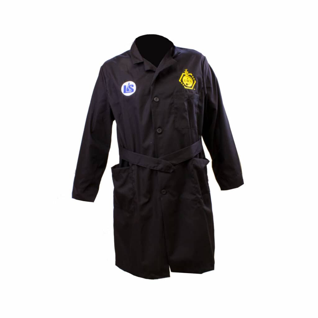 Buy a chemistry lab coat for science online from Lab Society - Laboratory equipment manufacturers and suppliers.