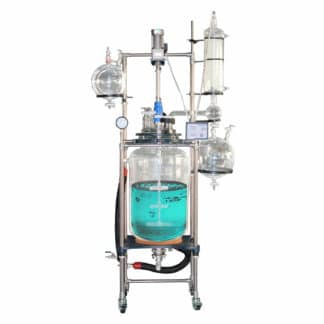 100L Jacketed Glass Reactor - Buy Across International Products Online