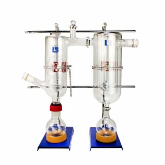 Buy a Dual Inline Cold Trap Kit Online from Lab Society - Your source for American-made lab supplies.