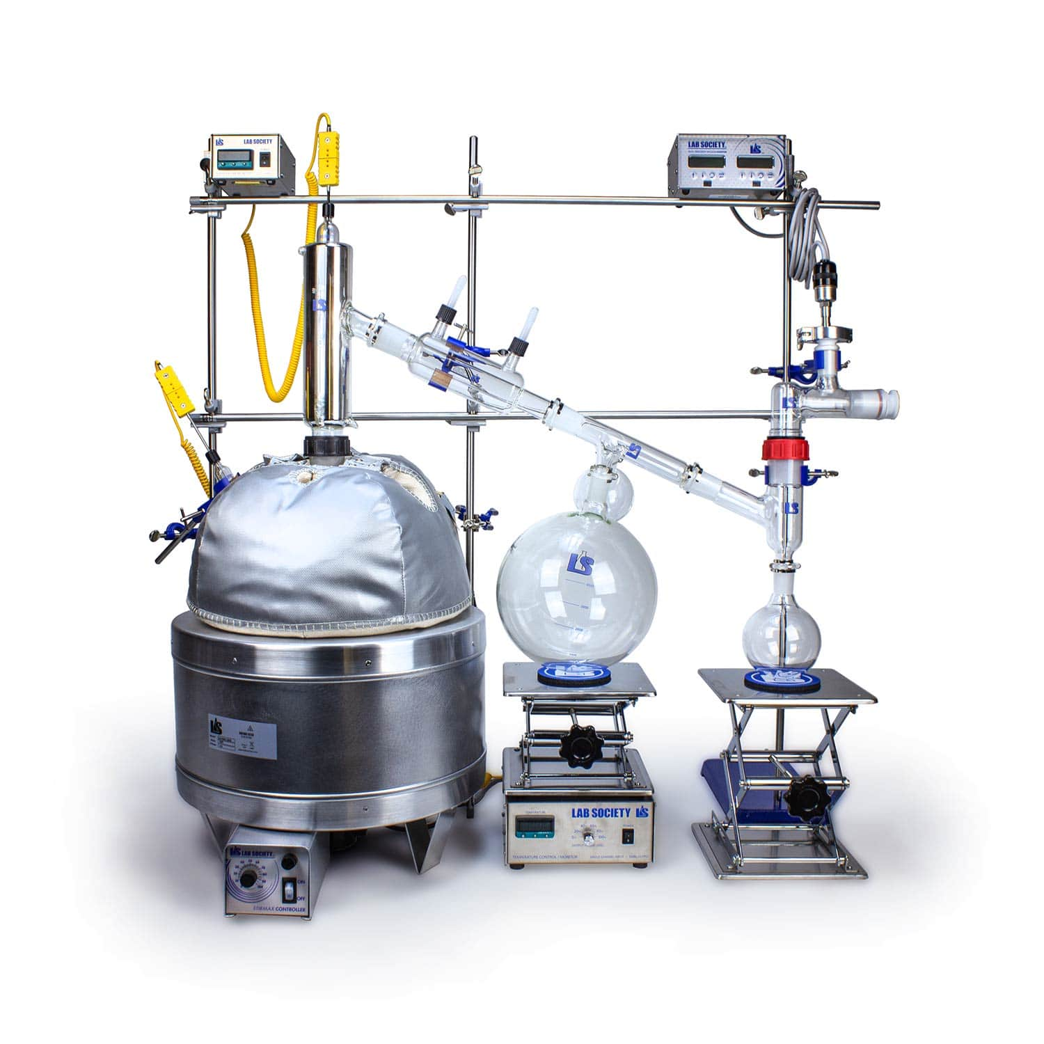 Our 12L Short Path Distillation Kit is Fully Automatable, Thanks to EliteLab!
