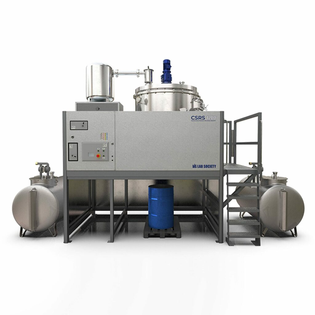 Continuous Solvent Recovery System (CSRS)