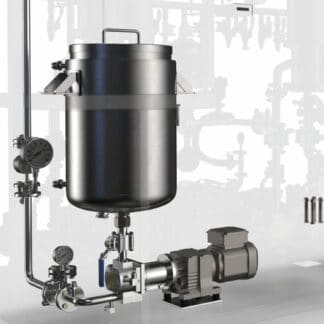 2-Stage Thin Film Distillation System