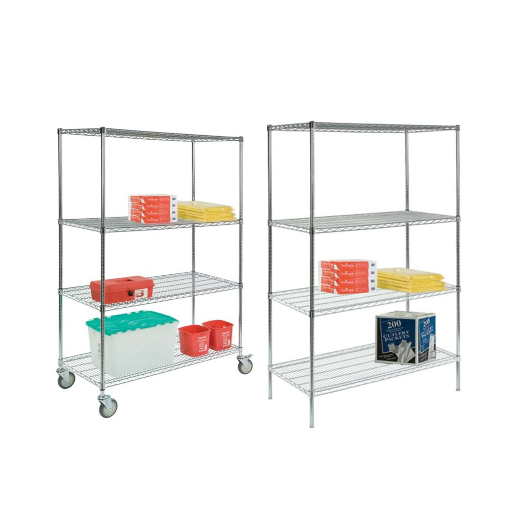 Wire Shelving Family