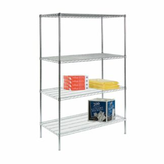 Wire Shelving (Stationary)