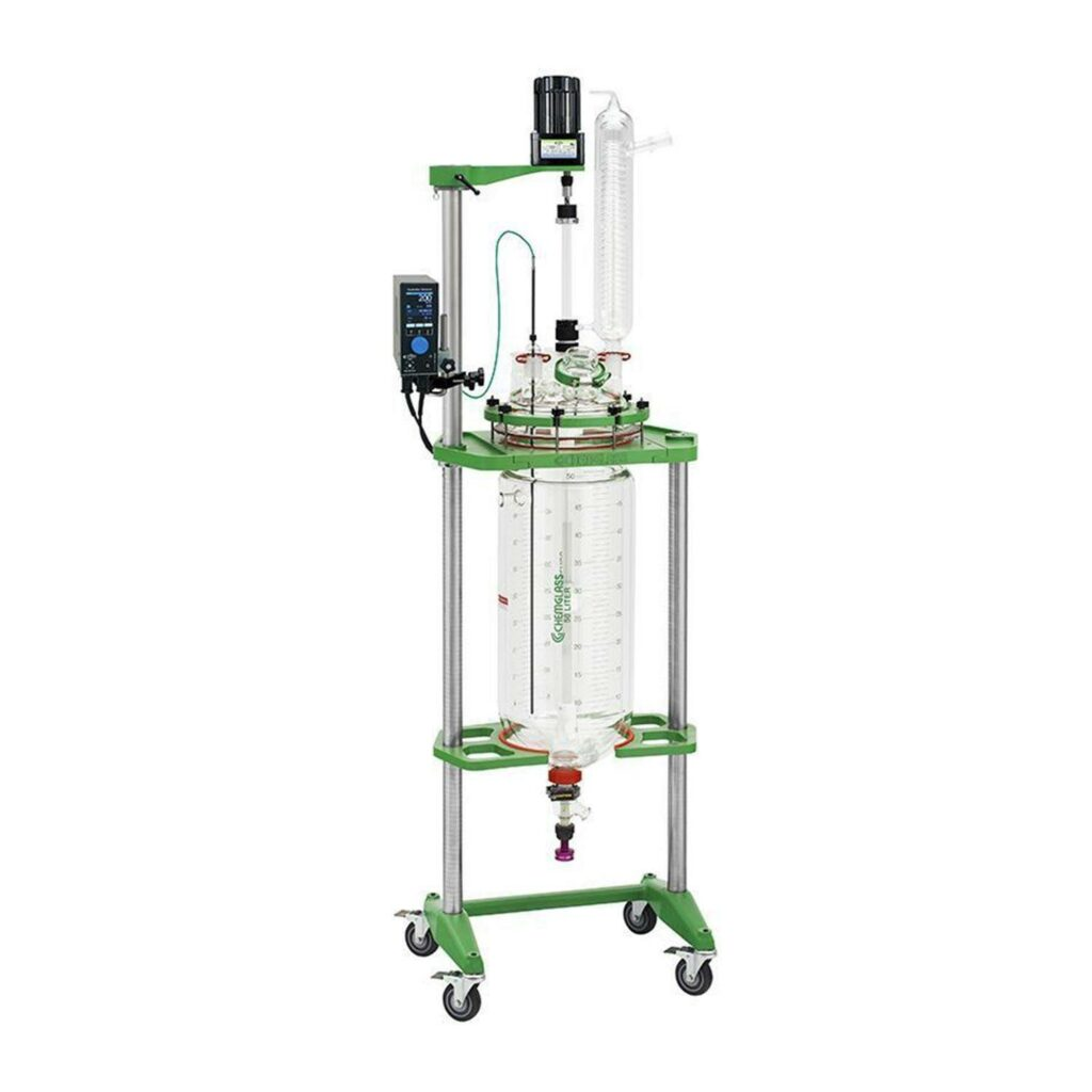 Chemglass Explosion-Proof Glass Reactor - 50L