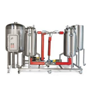 Pinnacle Stainless AES-C (Dual Centrifuge Alcohol Extract Skid)