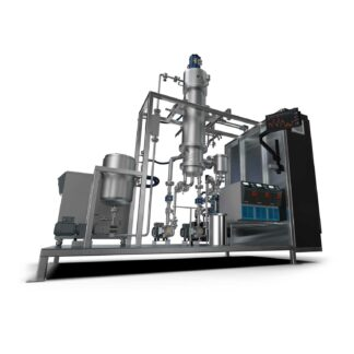 Thin Film Distillation System – Single Stage, 0.6m2