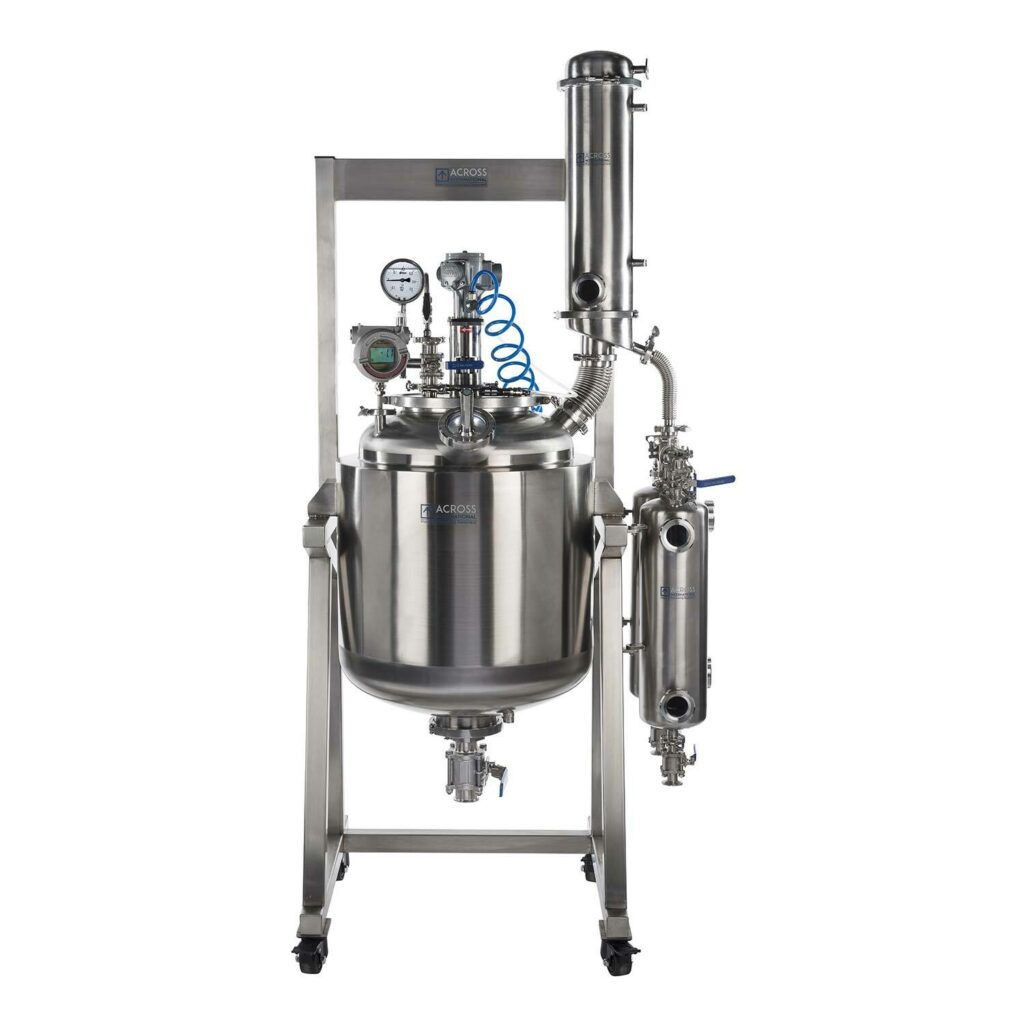 SR100 Dual-Jacketed 316L-Grade Stainless Steel Reactor