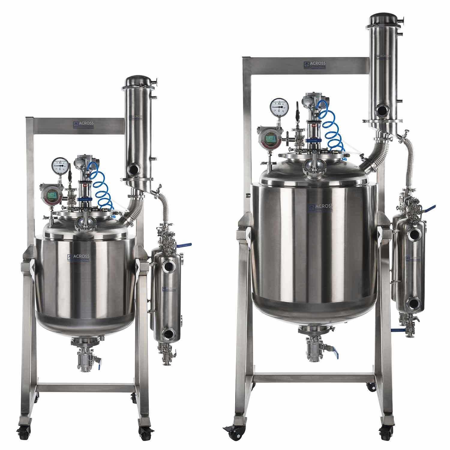 Dual-Jacketed 316L-Grade Stainless Steel Reactor