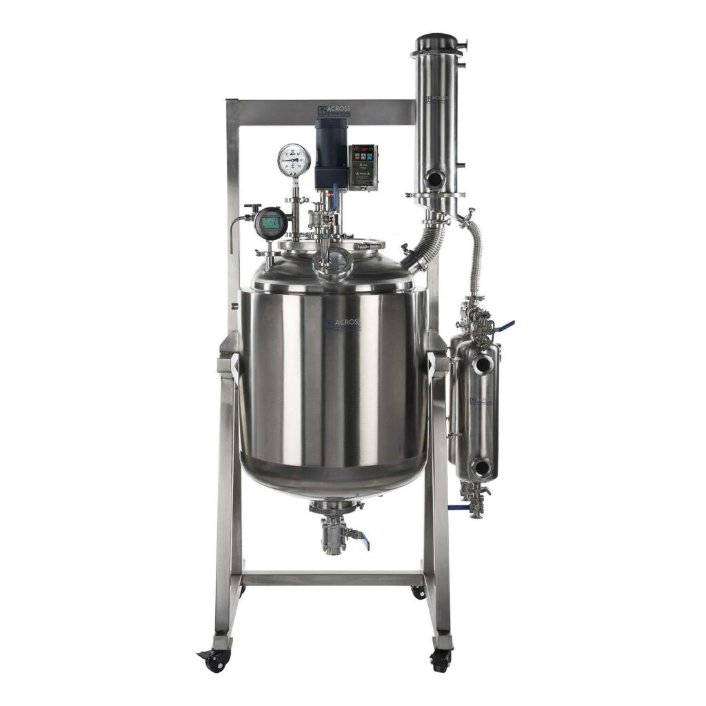 SR200 Dual-Jacketed 316L-Grade Stainless Steel Reactor