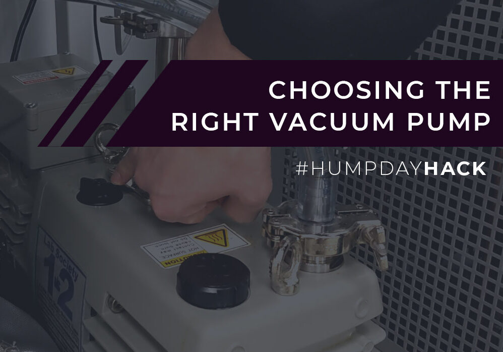 Which Vacuum Pump Should I Use?