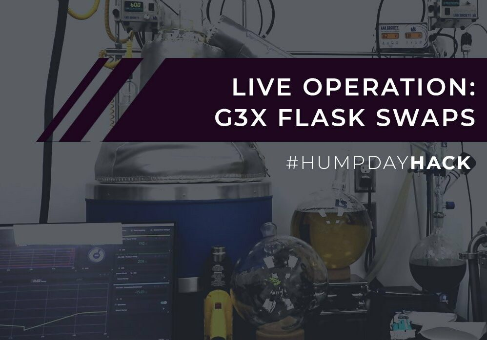 Live Operation: G3X Flask Swaps
